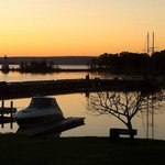 Sunrise Seen from the Water's Edge Inn, Baddeck, Cape Breton