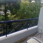 balcone piano terra