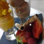 Delicious home made sorbets & ice creams