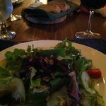 Salad with Fresh Beets at Chanterelle, Baddeck, Cape Breton