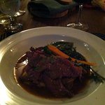 Roast Veal at Chanterelle, Baddeck, Cape Breton