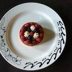 Tartelette aux fruits rouges de saison