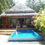 Porche de Baros Pool Villa 210