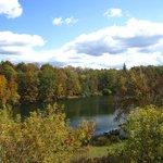 Autumn View of Lake