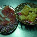 gnocco fritto e salumi