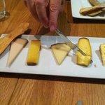 Cheese heaven at Copas y Tapas