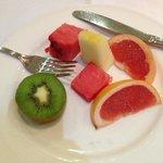 frutas variadas no café da manhã