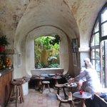 Inside the Bar Area