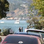 Street view over the sea at Sausalito.