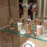 Complimentary Molton Brown Toiletries