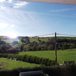 Room with a view of the debyshire countryside