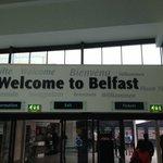 Belfast Central Train Station - 2hr train ride from Dublin