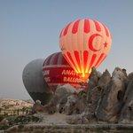 Vuelo en globo Cappadocia
