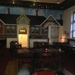 Lovely restaurant area, homely and rustic decor