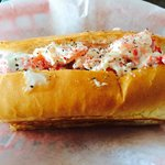 Lobster Roll from Maine-ly Sandwiches