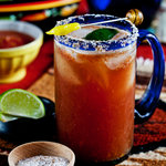 michelada! beer with chili
