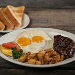 Coyote's $10 Saturday New York Steak and Eggs Special!