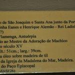 Podpis pod obrazem Św.Joachim i Św.Anna