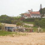 Hotel visto da praia