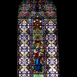 Stained Glass at Basilica of St. John the Baptist