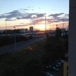 Vista ao amanhecer