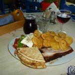 The Best Souvlaki Special in Naxos!