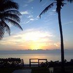 Sunrise - In front of pool - Spring Break 2013