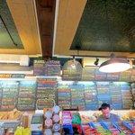 Collegetown Bagel's overwhelming variety in their menu