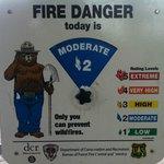 Sem perigo de incêndio