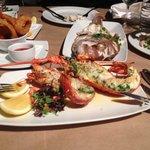 Crayfish et Whole snapper, excellent !!
