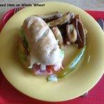 Glazed Ham sandwich