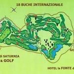 Campo da GOLF - Saturnia - Terme di Saturnia - vicinanze Hotel la FONTE del CERRO - Italy