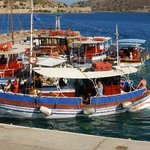 Boat trips from Plaka to Spinalonga