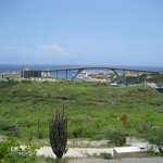 view over willemstad with the Juliana bridge