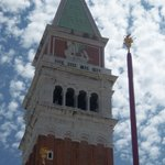 la sommità del Campanile di San Marco