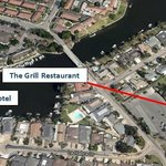 Actual location of The Grill Restaurant