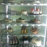 Gelato cakes and canoli etc