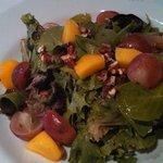 Grape, Mango Salad
