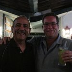 Richie the owner and me