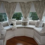 Loved this window seat with bay view!