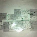 план этажа и апартаментов