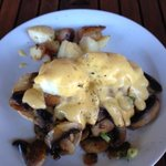 Marinated Tofu Egg Benedict