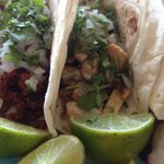 Four Tacos which were all very tasty