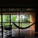 Fabulous deck, superlative hammock