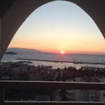 A beautiful sunset from room floor 6, Sept 20th 2013