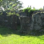 A part of the old fort.