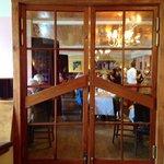 Door between Chocolate Shop and Restaurant