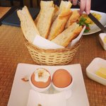 Amazing breakfast - perfect soft boiled eggs