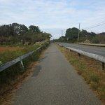 Bike Trail to the Beach