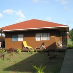 Our cabin at Marae
